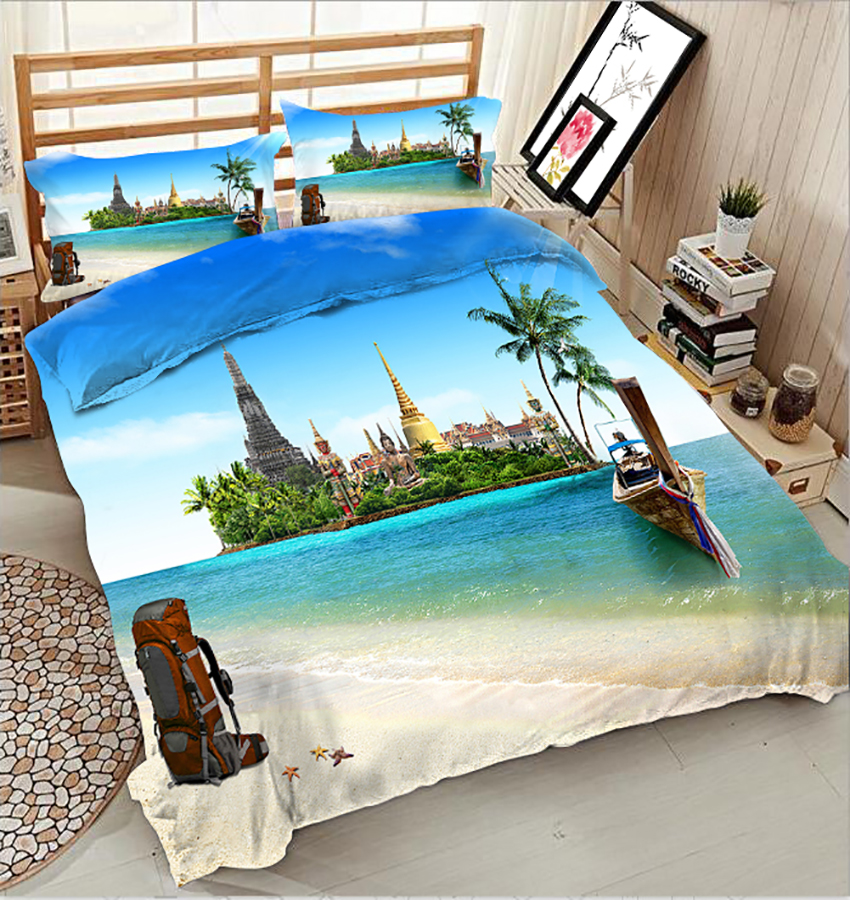 3D Bedding Set king size Twin Queen bedset California king Single Double Bed set Duvet Cover Pillowcase Natural scenery 3D Bedding Set king size Twin Queen bedset California king Single Double Bed set Duvet Cover Pillowcase Natural scenery
