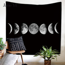 JaneYU New Hd Lunar Eclipse Moon Multifunctional Tapestry Wall Hanging Beach Towel цена 2017