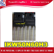 Livraison Gratuite 10 pièces IKW50N60H3 K50H603 À 247