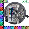 5050 LED RGB Strip 4M IP20 Led Tape Non-Waterproof  dc12 christmas lamps +44 keys IR  led dimmer remote for christmas decoration