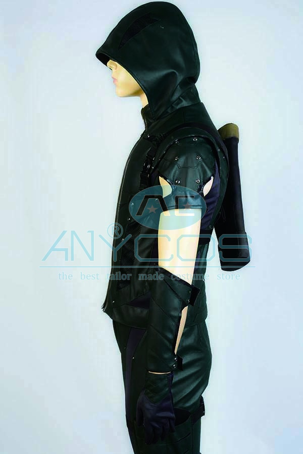 The Green Arrow Oliver Queen Uniforme Adultos pantalones superiores - Disfraces - foto 5