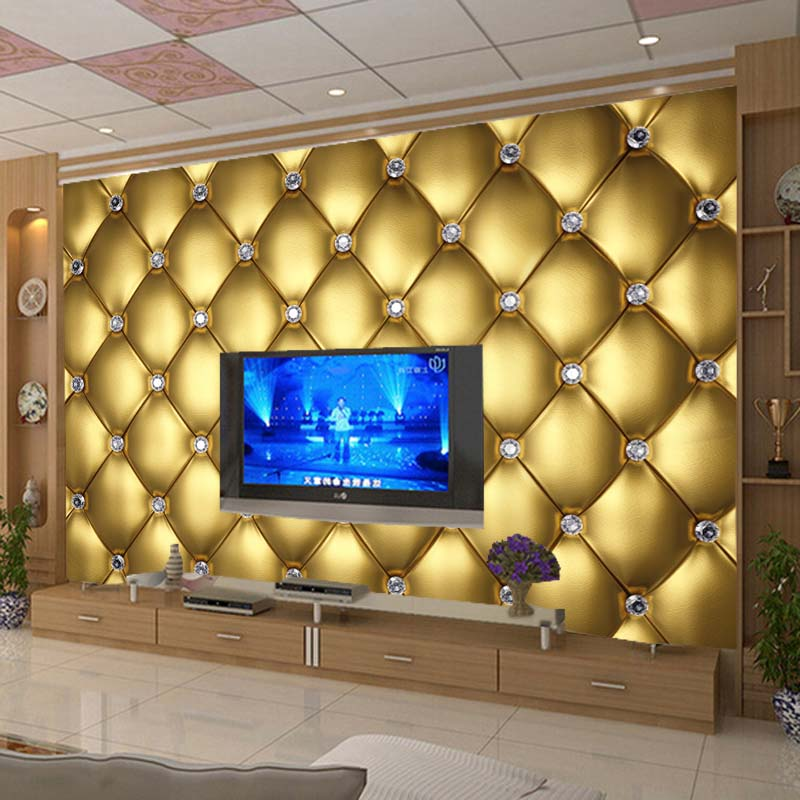 3D stereoscopic flexible decorative wall stickers large diamond 3D wallpaper mural bedroom TV background 3D wallpaper customized custom baby wallpaper snow white and the seven dwarfs bedroom for the children s room mural backdrop stereoscopic 3d