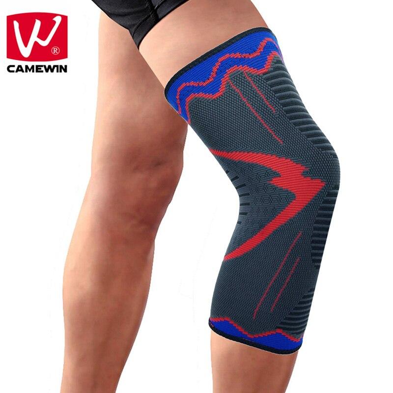 CAMEWIN rodilleras manga de compresión apoyo para correr, trotar, deportes, alivio del dolor articular, artritis y recuperación de lesiones