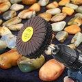 7 pcs Filo di Stoffa Della Striatura di Lucidatura Ruota di Legno Intagliare Levigatura Accessori Mola abrasiva Flap Sandin Strumenti per Strumento di Potere