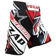 font b Men s b font printing VSZAP CONFLICT MMA fight font b shorts b