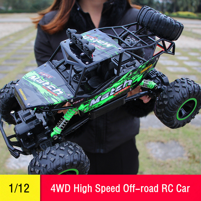 BEHORSE RC Car 4WD Remote Control Electric Buggy Toys Kids