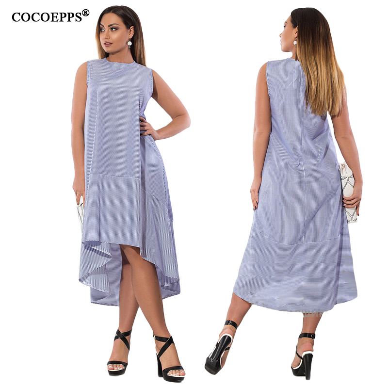 CACNCUT Summer Fashion Straped Dresses Women Big Size clothes 2018 Elegant Casual Plus Size Long party Dress Vestidos 5xl 6xl