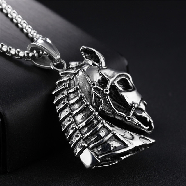 2017 Stainless Steel Necklace Jewelry Western Country Men Cowboy