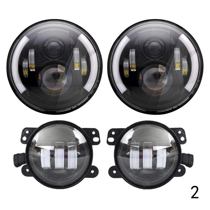 Dacia Lodgy Red 4-LED Xenon Bright Side Light Beam Bulbs Pair Upgrade
