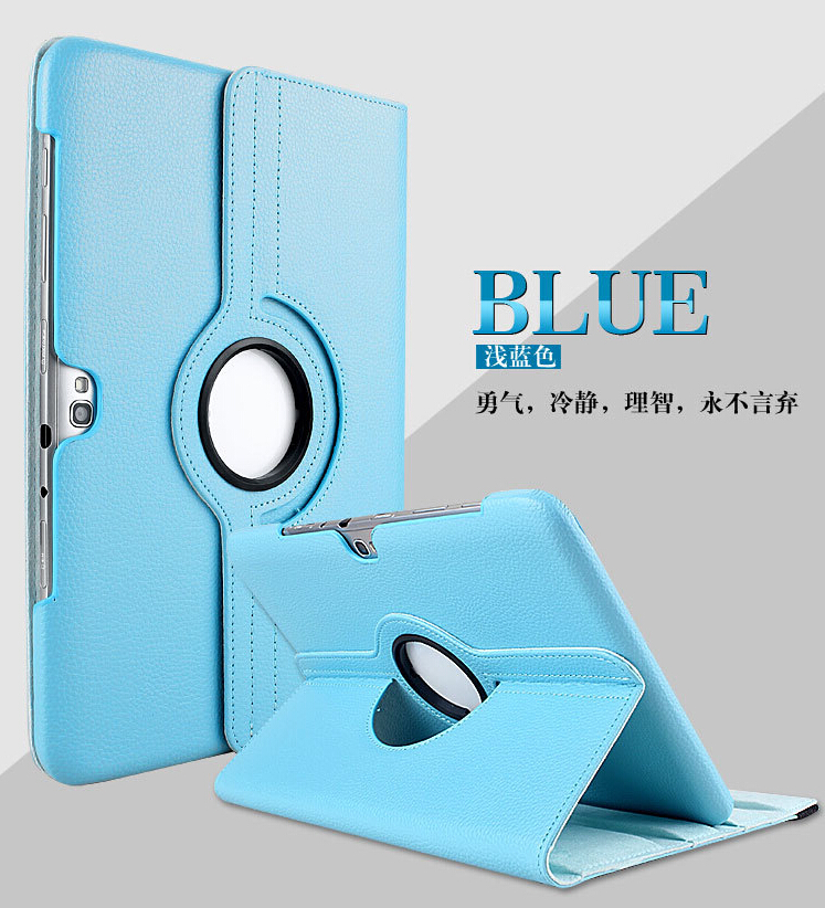 For samsung N8000 case Galaxy Note 10.1 gt-n8000 tablet case N8010 360 Degrees Rotating Stand PU Leather Flip Case 360° rotary protective pu flip open case w stand for 12 2 samsung galaxy note pro p900 black
