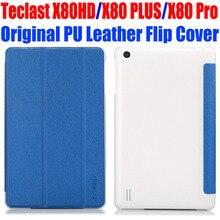 """Original 8.0 """"para teclast x80hd x80 x80 plus pro de cristal de nuevo cuero de la pu case cubierta del tirón para x80hd x80 plus tablet pc case tl01"""
