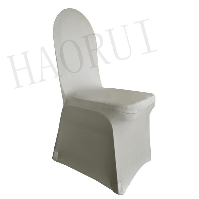 Elegant Chair Covers For Wedding Folding Captains Chairs Boats 100pcs Lot Stret Silver Dining Banquet Party Spandex Decoration