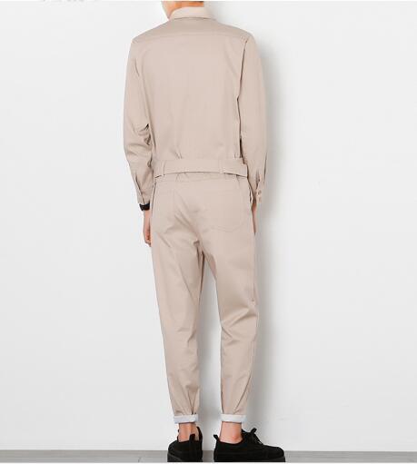 Herren Baumwollmaterial Enge Hosen Set von schlanken Hosen männliche - Herrenbekleidung - Foto 4