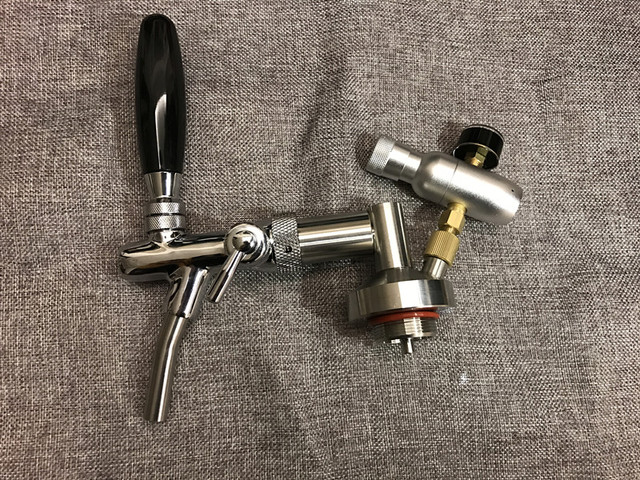 stainless mini growler spears Beer Spear with Adjustable tap Faucet ...