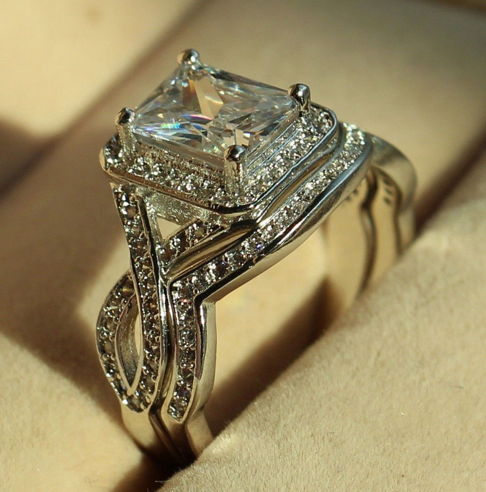 Online Get Cheap Moissanite Wedding Sets -Aliexpress.com ...