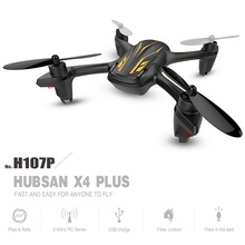 In stock Original Hubsan X4 Plus H107P 4CH Altitude Mode RC Quadcopter with LED RTF