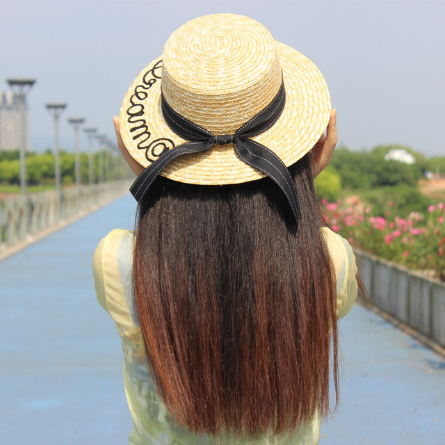Spring Summer Women s Fashion Cool Hats Visor Outdoor Vacation Tourism Sunscreen Sun Hat Seaside Letters