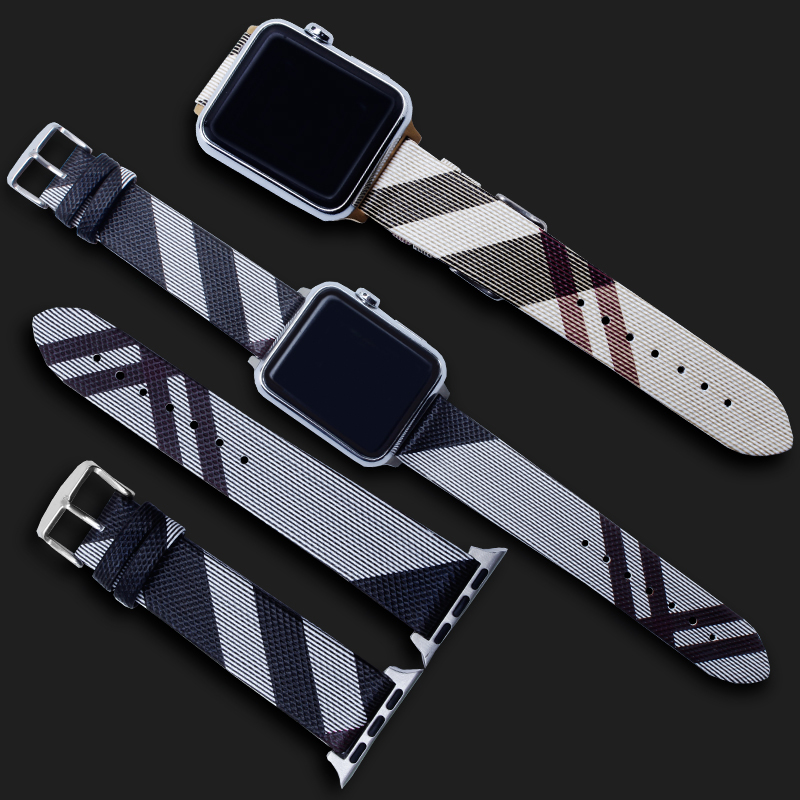 PEIYI PU leather loop strap for apple watch band 4 42mm 38mm correa watchband for iwatch 44mm 40mm 3 2 1 bracelet accessories in Watchbands from Watches