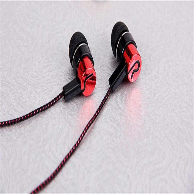 3.5 مللي متر LR سماعات أذن داخل الأذن سماعة ستيريو سماعة يدوي الموسيقى الرياضة سماعات للآي فون Xiaomi سامسونج MP3 PK S6 S4 Am115 S8