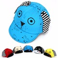 Cute Cartoon Child Baseball Caps Infant Baby Girl Boy Lovely Dog Snapback Caps Child Soft Brim Summer Spring Sun Hats Cap
