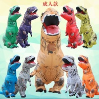 Outdoor Air Filled Adult Size Inflatable Dinosaurs Clothing Rider Tyrannosaurus Rex Dinosaur Inflatable Costume Clothing