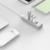 ORICO ASH4-U3-SV Alumínio 4 Portas USB3.0 Hub com o Tipo C para Windows XP/Vista/7/8/10/Linux/Unix/Mac os-Prata