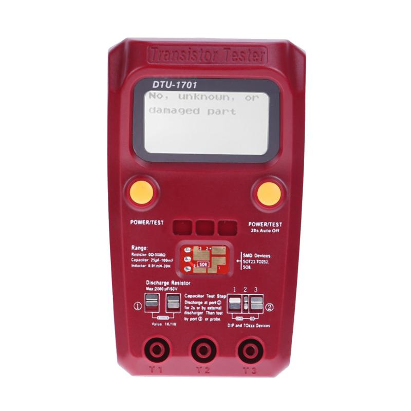 ESR02 Pro Digital Transistor Tester Diode Capacitance Resistance Chip Component Inductance Meter ESR Meter new portable color component tester transistor diode capacitance esr meter mosfet npn mpn mos inductance english version