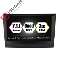 Android 7 1 1 Two Din 8 Inch Car DVD GPS Video Player For Porsche 911
