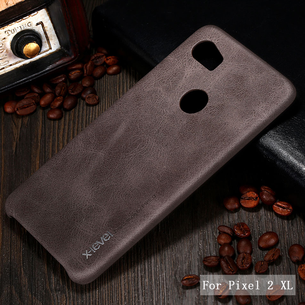 huge discount b5115 ba61a Details about For Google Pixel 3a XL 3 2 XL X-Level Retro Leather Ultra  Protective Case Cover