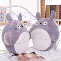 Big belly Classic cartoon Totoro Warm hand pillow plush toy Bedroom decoration 40cm
