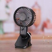 купить 1PC Protable Double Turn Leaves Fan Electric Fans USB Table Stand Fans 2-Speed Wind Mini Electric Personal Hand Desktop Fan(bl по цене 311.98 рублей