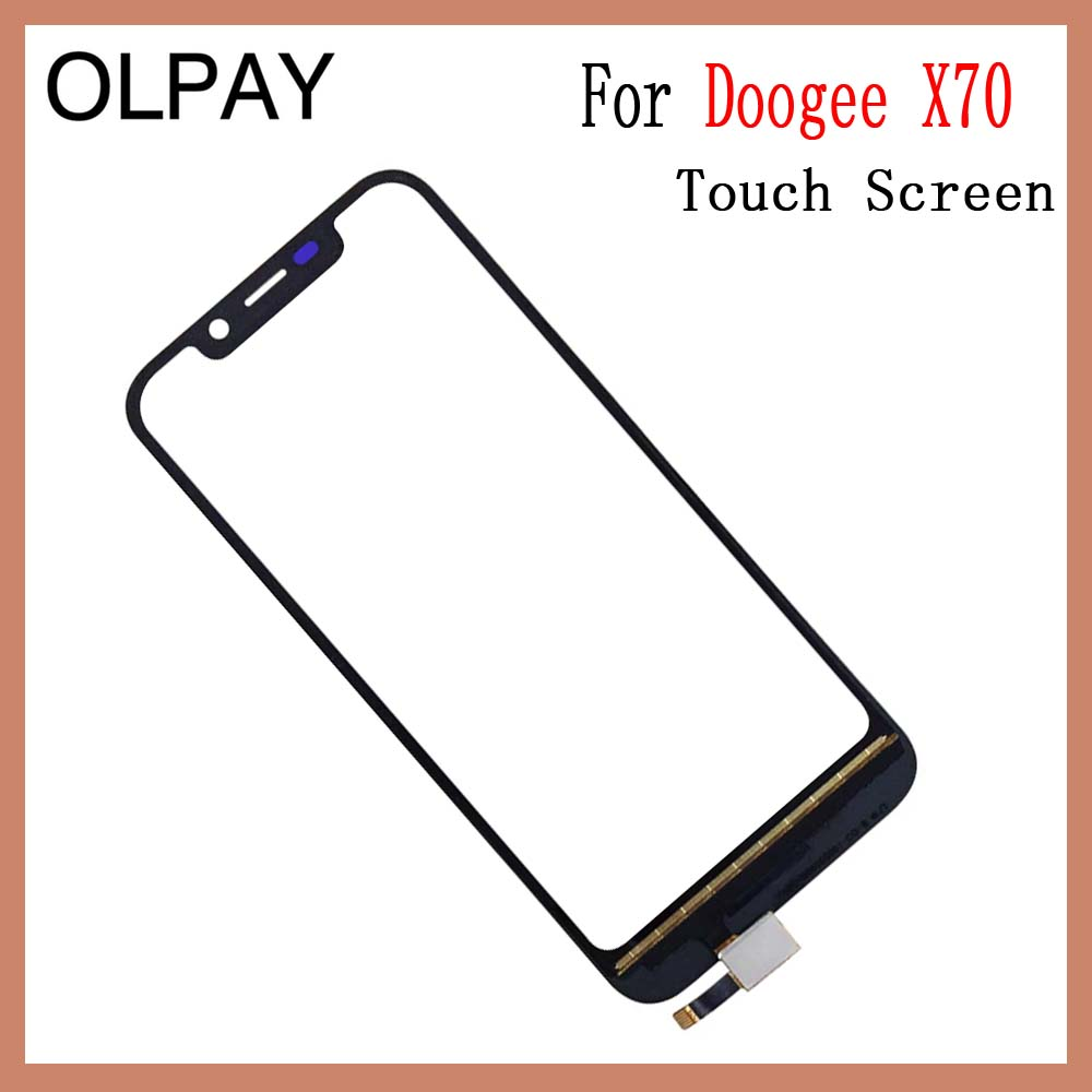 Image 4 - OLPAY 5.5'' For Doogee X70 X 70 Touch Screen Glass Digitizer Panel Lens Sensor Glass Free Adhesive And Wipes-in Mobile Phone Touch Panel from Cellphones & Telecommunications