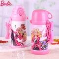 Barbie Garrafa Térmica de Vácuo Garrafa Garrafa De Água Garrafa Térmica De Café Canecas de Viagem Portátil Copo Vazio Crianças Chaleira De Vidro Garrafas de Água de Esportes
