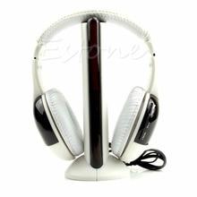 Новый 5 в 1 Привет-fi Беспроводные Наушники Наушники Наушники для ТВ DVD MP3 PCfree доставка