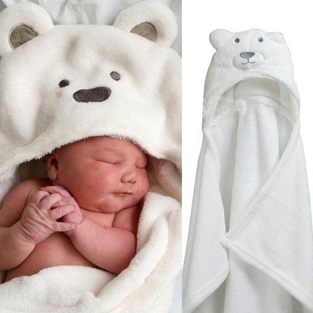 Livraison gratuite de forme Animale bébé à capuche peignoir peignoir bébé bébé  serviette de 9a632d2eead