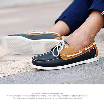 2019 designer men's shoes Hand Sewing Slip-On Mens Loafers Casual Driving Moccasins  Men Shoes Genuine Leather Men Boat Shoes 45 1