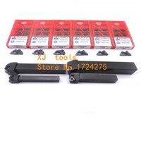 SER1212H16 SER1616H16 SER2020K16 SER2525M16 16ER AG60 AG55 A60 carbide insert Lathe Cutter External Thread Turning tool Holder