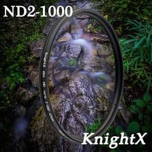 KnightX 52mm Neutral density ND1000 filter Glass FOR  Nikon D3100 D3200 D5200 D7100 18-55mm  Digital Camera Lens 2015 new nisi 58mm nd1000 ultra thin neutral density filter 10 stop for digital slr camera nd 1000 58mm slim lens filters
