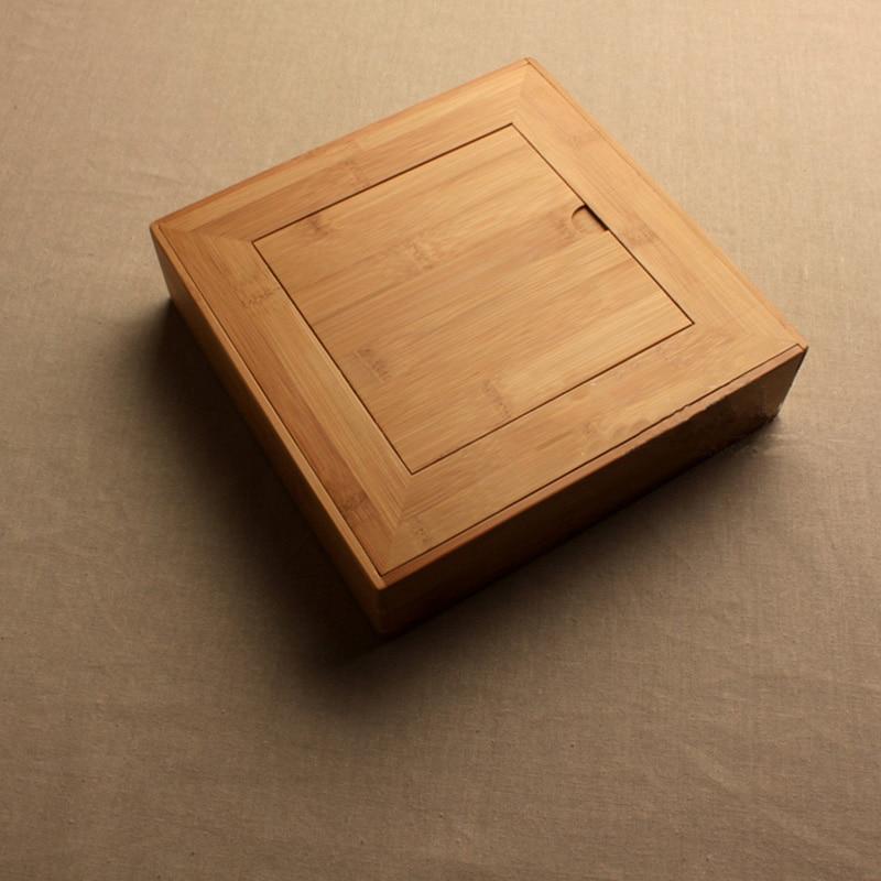 Premium Bamboo Pu-Erh Storage Gift Box Handmade 1