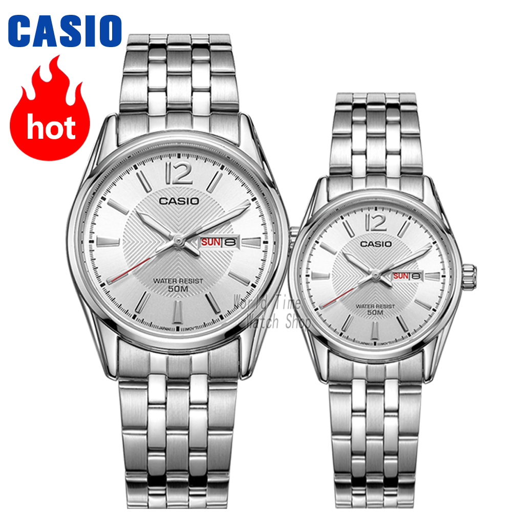 Casio Watch Men Quartz Sport Women Mens Watches Brand Luxury  Waterproof Stainless Couple Watch Set Feminino Relogio Masculno
