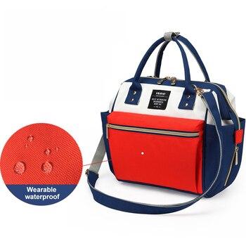Heine Fashion Mummy Maternity Nappy Bag Large Capacity Baby Bag Travel Backpack Desinger Nursing Bag for Baby Care H10196 босоножки quelle heine 170362