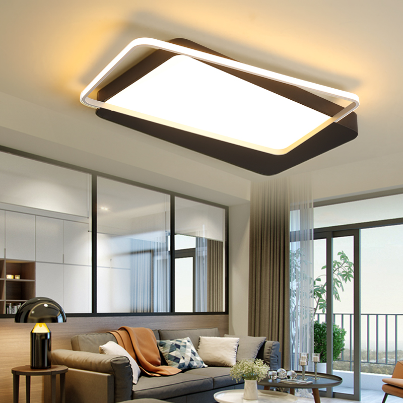 Modern led ceiling lights for living room Bedroom Kitchen luminaire plafonnier indoor home lighting flush mount ceiling lights dimmable led ceiling lights fixture modern luminaire plafonnier led for living room kitchen bedroom indoor ceiling lamp