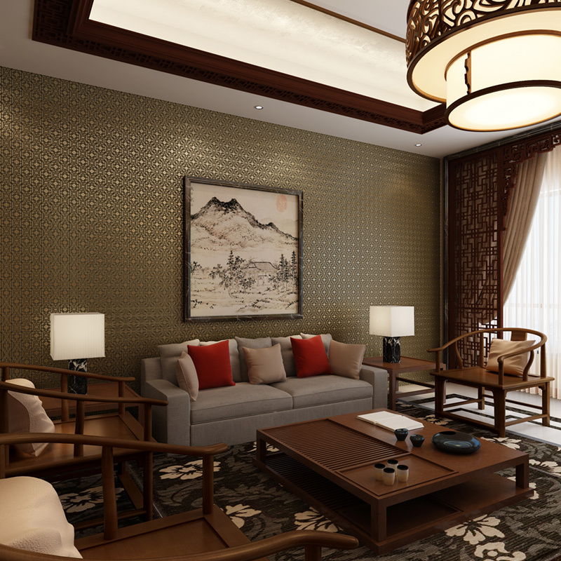 tv living background modern different bedroom chinese degrees wallpapers study woven non