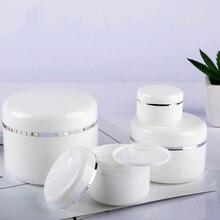 Горячая Портативный многоразовые бутылки путешествия крем-лосьон для лица пластиковый косметический контейнер пустая банка для макияжа