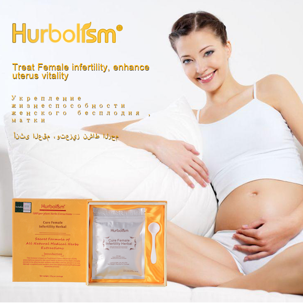 Hurbolism New Update Herbal Powder For Cure Female Infertility, Enhance Uterus Vitality, Help Ovulation,Enhance Ovary Functions