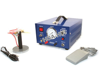 Electronic Spa rkle Welder / Pulse argon with electrode welding machine gold silver metal necklace making machine