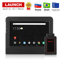 LAUNCH X431 V Plus 10.1inch Wifi/Bluetooth Auto diagnostic tool with 2 year free update X431 V+ Car Scanner Same as X431 Pro3