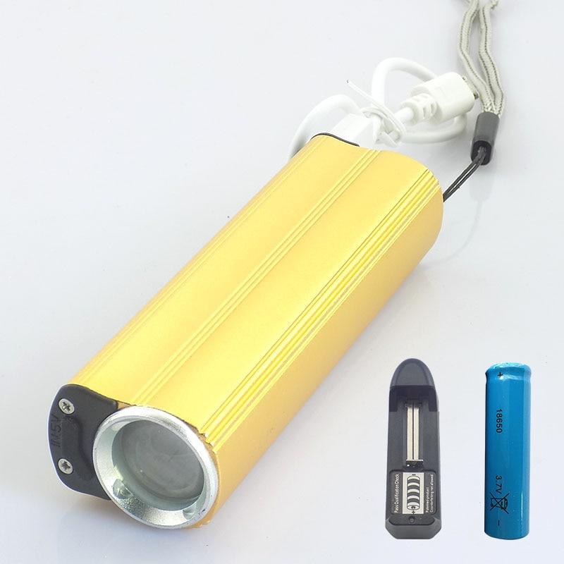 רב עוצמה 1600 לומן Linterna פנס טקטי Q5 Lanterna - תאורה נייד