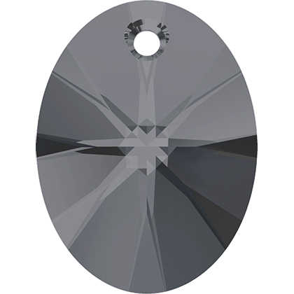 (1 piece) 100% מקורי קריסטל סברובסקי 6028 Xilion סגלגל תליון תוצרת אוסטריה loose ריינסטון לdiy תכשיטי ביצוע