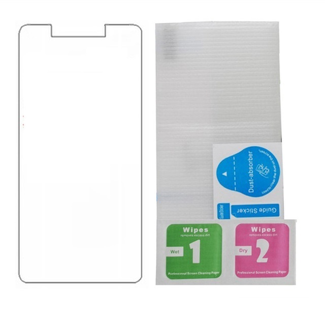 2PCS For HomTom S99 Telephone Glass 9H High Quality Transparent Screen Protector Film For HomTom S99 Glass Explosion-proof Film(China)